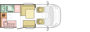 Adria Matrix 590 ST