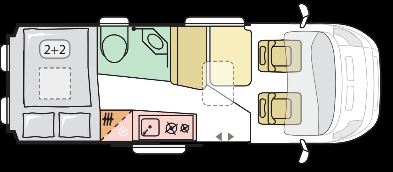 Adria Twin 2020   Cor van den Oever Campers en Caravans